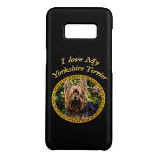 Capa Case-Mate Samsung Galaxy S8 Cão pequeno do yorkshire terrier doce