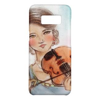 Capa Case-Mate Samsung Galaxy S8 Caso do vintage da galáxia de Samsung - violino