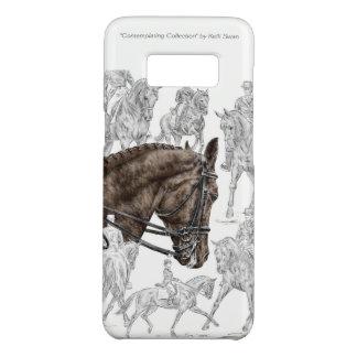 Capa Case-Mate Samsung Galaxy S8 Cavalos recolhidos FEI do adestramento