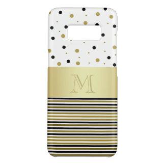 Capa Case-Mate Samsung Galaxy S8 Chique brilhante dourado feito sob encomenda dos