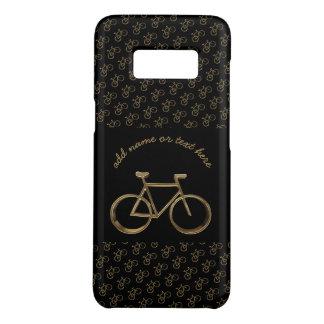 Capa Case-Mate Samsung Galaxy S8 Ciclismo preto elegante do teste padrão da
