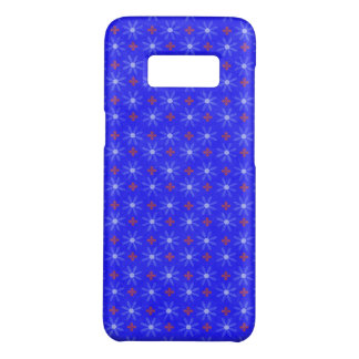 Capa Case-Mate Samsung Galaxy S8 Círculos florais azuis