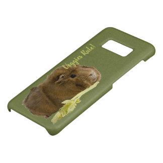 Capa Case-Mate Samsung Galaxy S8 Cobaia adorável que come a fotografia do aipo