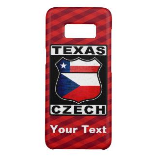 Capa Case-Mate Samsung Galaxy S8 Cobrir americano checo do telefone de Texas