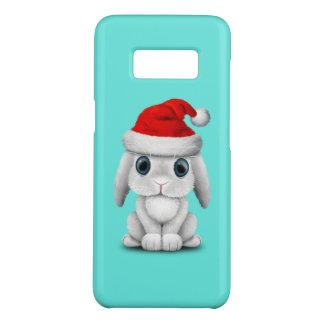 Capa Case-Mate Samsung Galaxy S8 Coelho branco do bebê que veste um chapéu do papai