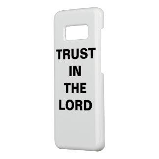 """Capa Case-Mate Samsung Galaxy S8 """"Confiança na caixa da galáxia S8 do senhor"""""""