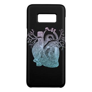 Capa Case-Mate Samsung Galaxy S8 Corações Pastel do preto do coração do gótico