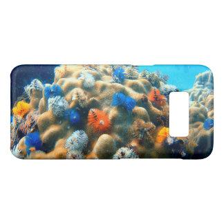 Capa Case-Mate Samsung Galaxy S8 Coral colorido da árvore de Natal
