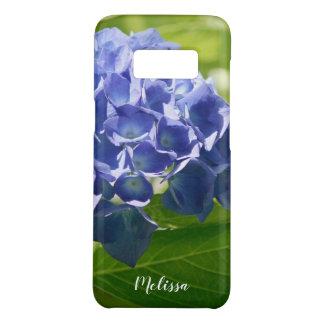 Capa Case-Mate Samsung Galaxy S8 Costume floral do Hydrangea azul