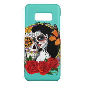 Capa Case-Mate Samsung Galaxy S8 Crânios do açúcar