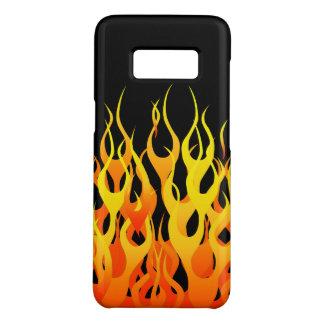 Capa Case-Mate Samsung Galaxy S8 Decoração de competência clássica das chamas em a