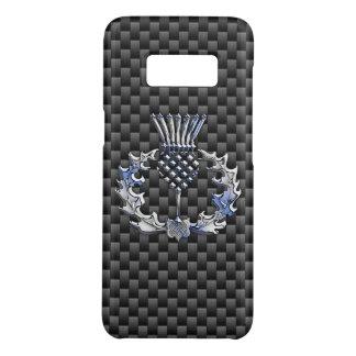 Capa Case-Mate Samsung Galaxy S8 Decoração escocesa do cardo em a