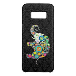 Capa Case-Mate Samsung Galaxy S8 Design bonito do elefante da flor colorida