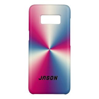 Capa Case-Mate Samsung Galaxy S8 Design metálico de aço inoxidável vermelho &