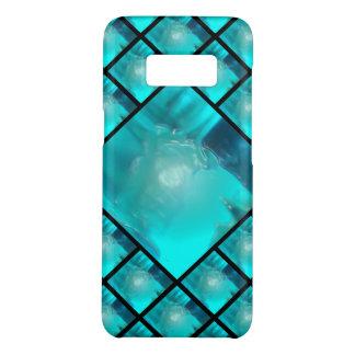 Capa Case-Mate Samsung Galaxy S8 Design plástico líquido azul 1264 da cerceta legal