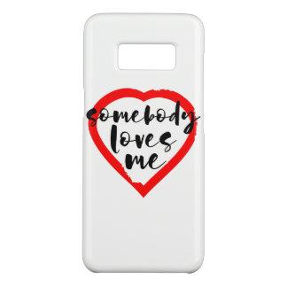Capa Case-Mate Samsung Galaxy S8 Dia dos namorados alguém ama-me