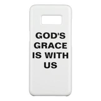 "Capa Case-Mate Samsung Galaxy S8 Do ""A benevolência deus é connosco"" caixa da"