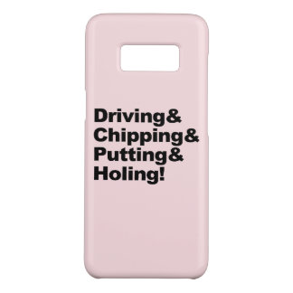 Capa Case-Mate Samsung Galaxy S8 Driving&Chipping&Putting&Holing (preto)