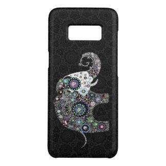 Capa Case-Mate Samsung Galaxy S8 Elefante floral colorido bonito