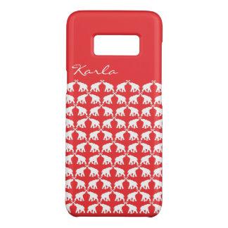 Capa Case-Mate Samsung Galaxy S8 Elefante vermelho