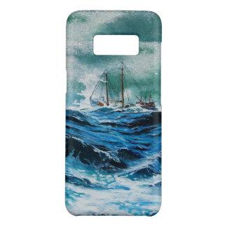 Capa Case-Mate Samsung Galaxy S8 Envie no mar na tempestade/azuis marinhos