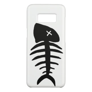 Capa Case-Mate Samsung Galaxy S8 esqueleto inoperante dos peixes