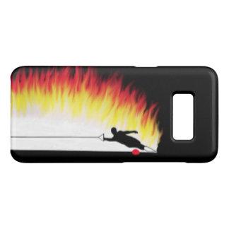 Capa Case-Mate Samsung Galaxy S8 Esquiador da água com a caixa da galáxia S8 de