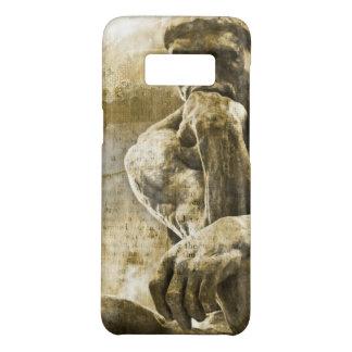 Capa Case-Mate Samsung Galaxy S8 Estátua de bronze afligida Auguste Rodin o