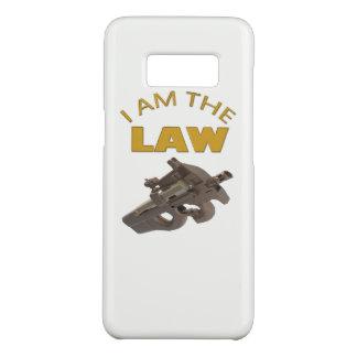 Capa Case-Mate Samsung Galaxy S8 Eu sou a lei com uma metralhadora m4a1