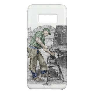 Capa Case-Mate Samsung Galaxy S8 Ferreiro do Farrier que usa o batente