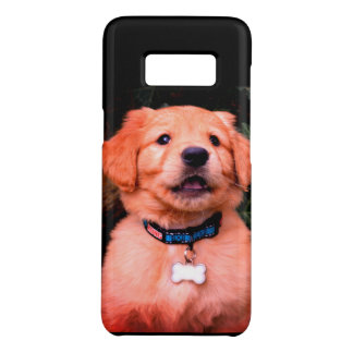 Capa Case-Mate Samsung Galaxy S8 Filhote de cachorro do golden retriever