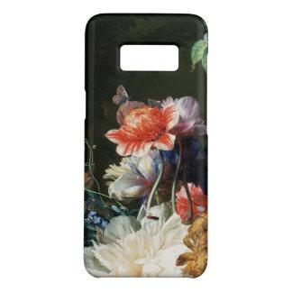 Capa Case-Mate Samsung Galaxy S8 FLORES BRANCAS das ANÊMONAS ROSAS VERMELHA,