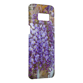 Capa Case-Mate Samsung Galaxy S8 flores roxas das glicínias