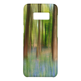 Capa Case-Mate Samsung Galaxy S8 Floresta BRITÂNICA do carvalho do Bluebell de