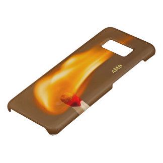 Capa Case-Mate Samsung Galaxy S8 Fogo de travamento do fósforo