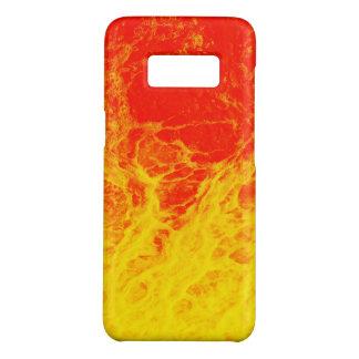 Capa Case-Mate Samsung Galaxy S8 Fogo vermelho e amarelo ardente