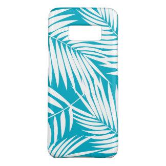 Capa Case-Mate Samsung Galaxy S8 Folha havaiana da cerceta das palmas de Kona