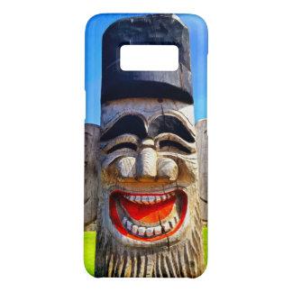 Capa Case-Mate Samsung Galaxy S8 Foto de madeira de riso de sorriso da cara dos