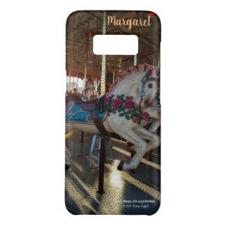 Capa Case-Mate Samsung Galaxy S8 Foto justa do cavalo do carrossel do carnaval