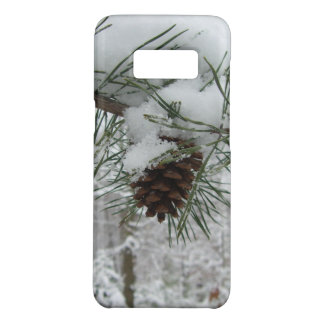 Capa Case-Mate Samsung Galaxy S8 Fotografia nevado da natureza do inverno do ramo