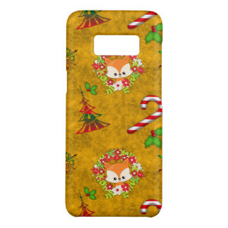 Capa Case-Mate Samsung Galaxy S8 Fox bonito do Natal