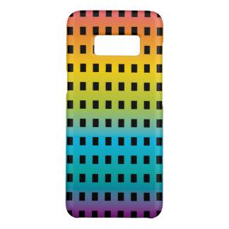 Capa Case-Mate Samsung Galaxy S8 Fulgor de néon nos 2 fluorescentes coloridos