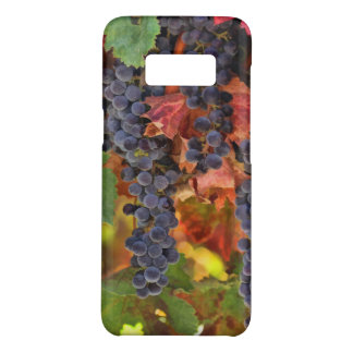 Capa Case-Mate Samsung Galaxy S8 Galáxia S8 de Samsung do vinhedo do vinho