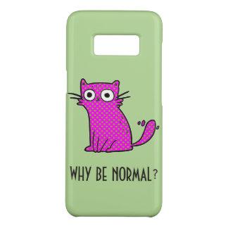 Capa Case-Mate Samsung Galaxy S8 Gato engraçado porque seja costume na moda