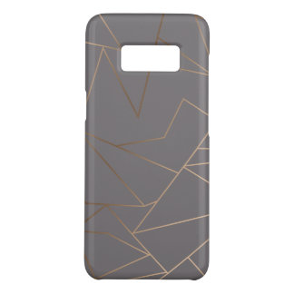 Capa Case-Mate Samsung Galaxy S8 Geométrico minimalista moderno elegante do ouro