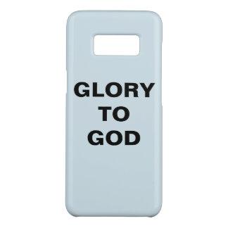 """Capa Case-Mate Samsung Galaxy S8 """"Glória caixa da galáxia S8 de Samsung ao deus"""""""