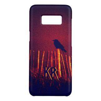 Capa Case-Mate Samsung Galaxy S8 Gótico Quoth o corvo sob o céu da meia-noite,