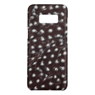 Capa Case-Mate Samsung Galaxy S8 Guineafowl manchou o abstrato da pena