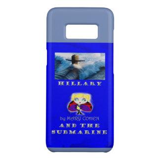 Capa Case-Mate Samsung Galaxy S8 Hillary e o submarino