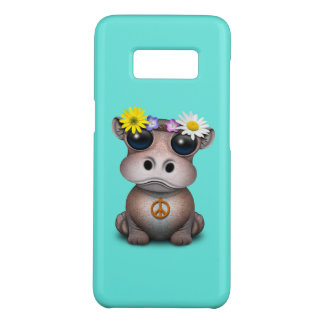 Capa Case-Mate Samsung Galaxy S8 Hippie bonito do hipopótamo do bebê